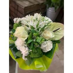 Bouquet bulle Blanc