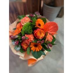 Bouquet bulle Orange